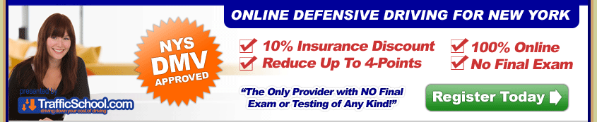 Online NY Defensive Driving